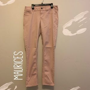 Maurices Skinny Jean - Blush Pink